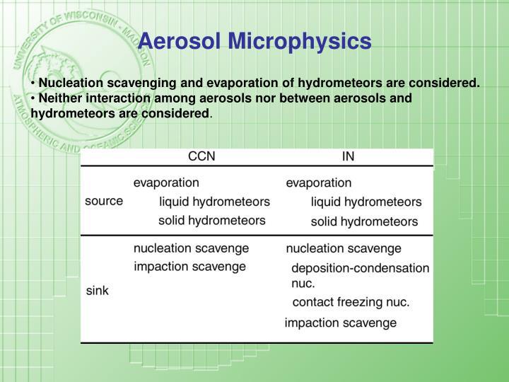 Aerosol Microphysics