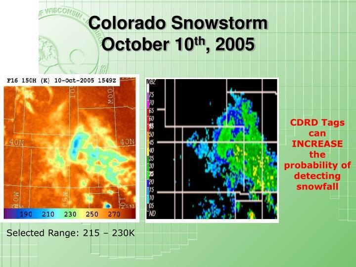 Colorado Snowstorm