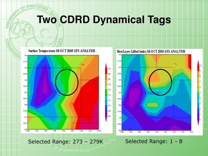 Two CDRD Dynamical Tags