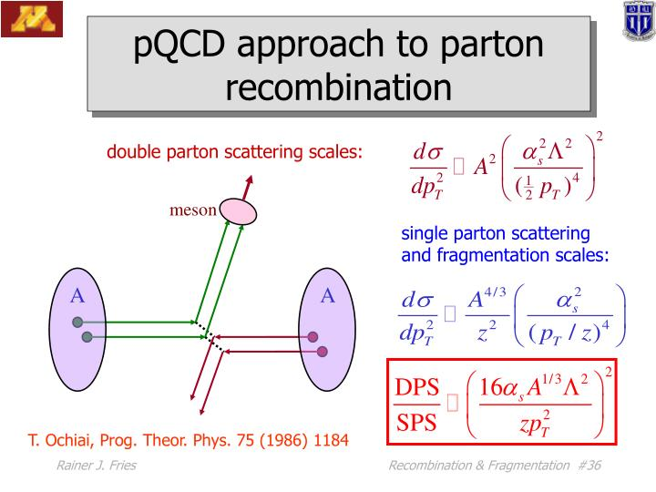 double parton scattering scales: