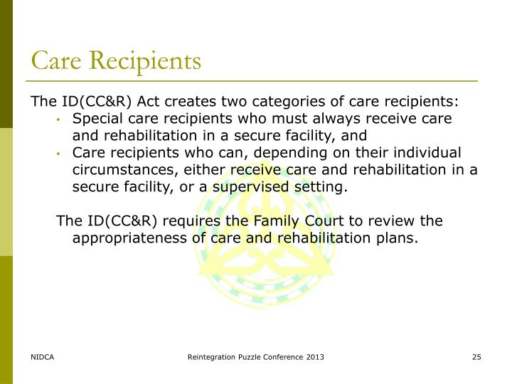 Care Recipients
