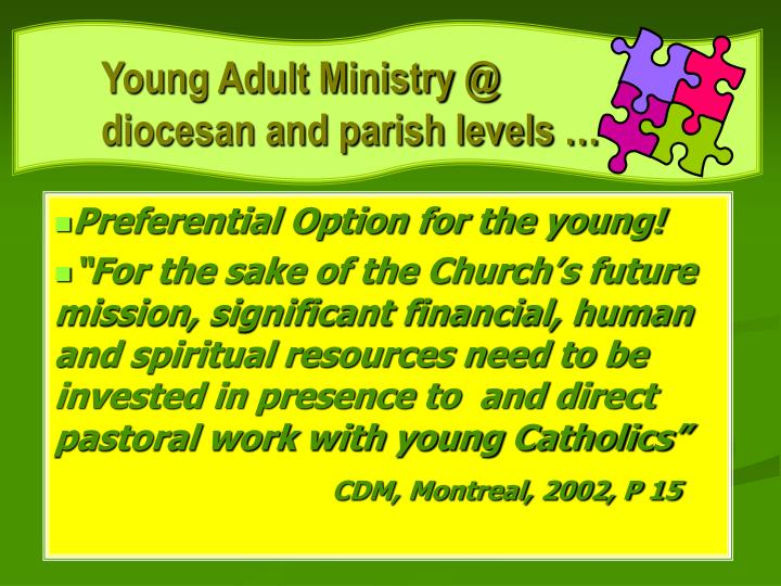 Young Adult Ministry @