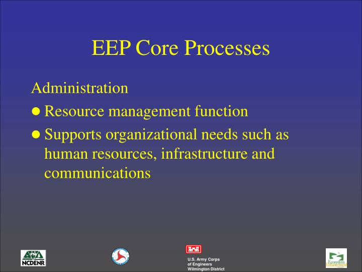 EEP Core Processes