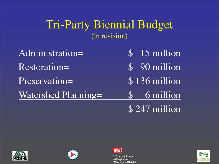Tri-Party Biennial Budget