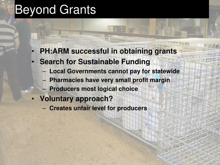 Beyond Grants
