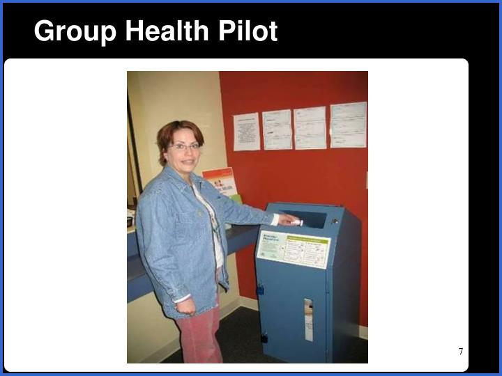 Group Health Pilot