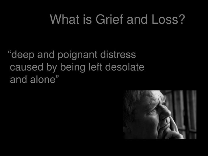 What is Grief and Loss?