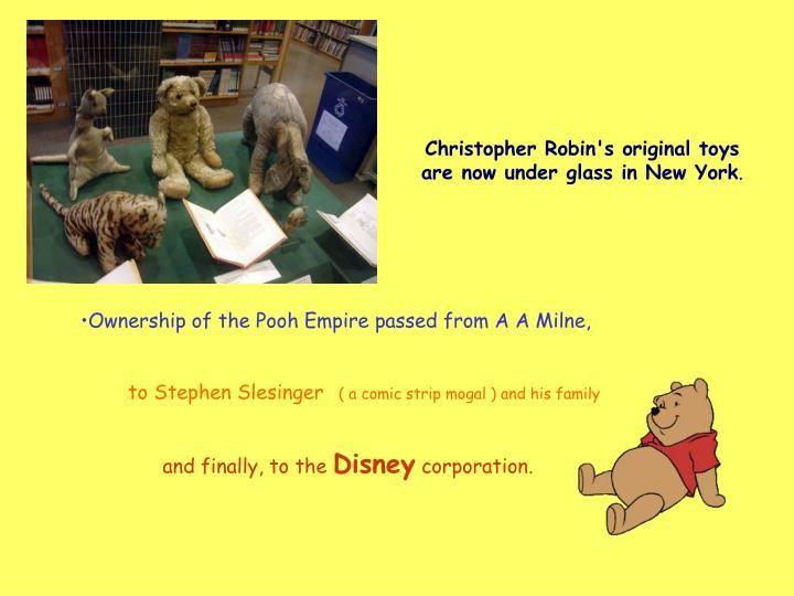 Christopher Robin's o