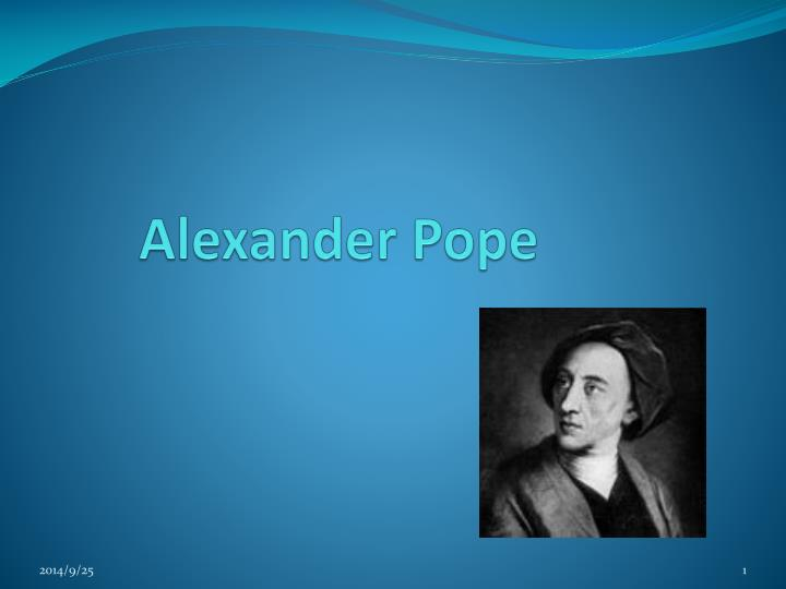 an essay on criticism alexander pope poem