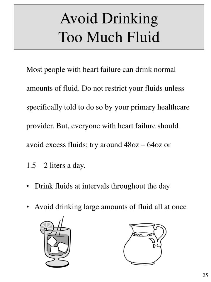 Avoid Drinking