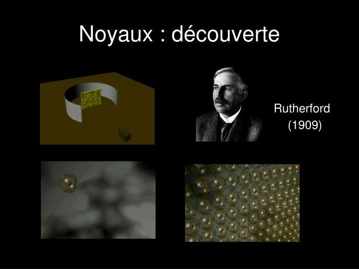 Noyaux : découverte