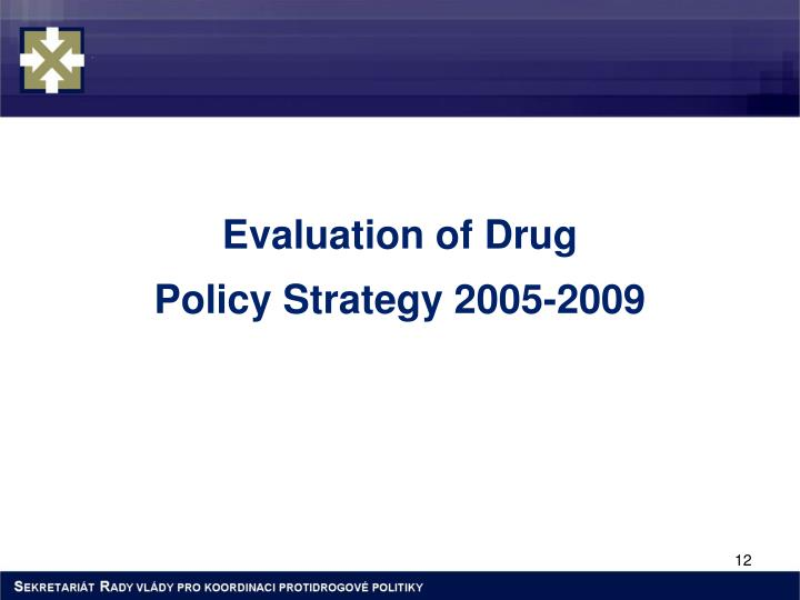Evaluation of Drug
