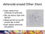 asteroids around other stars