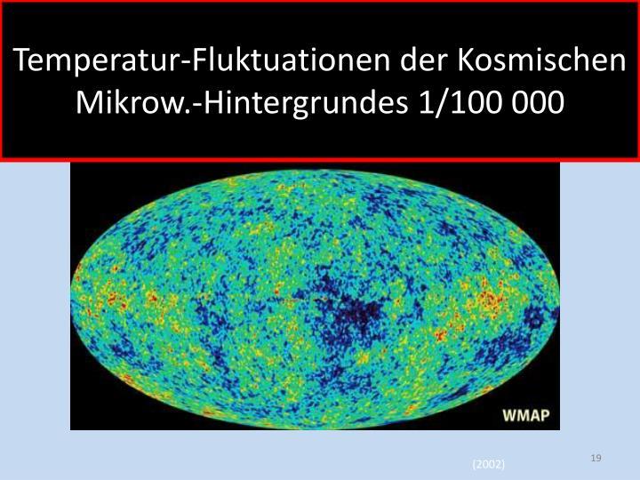 Temperatur-Fluktuationen der Kosmischen