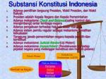 substansi konstitusi indonesia