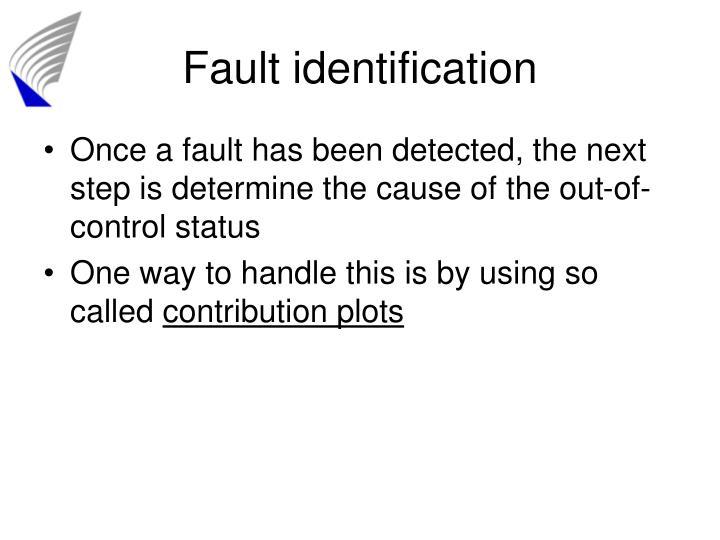 Fault identification