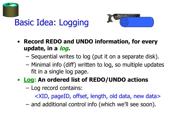 Basic Idea: Logging