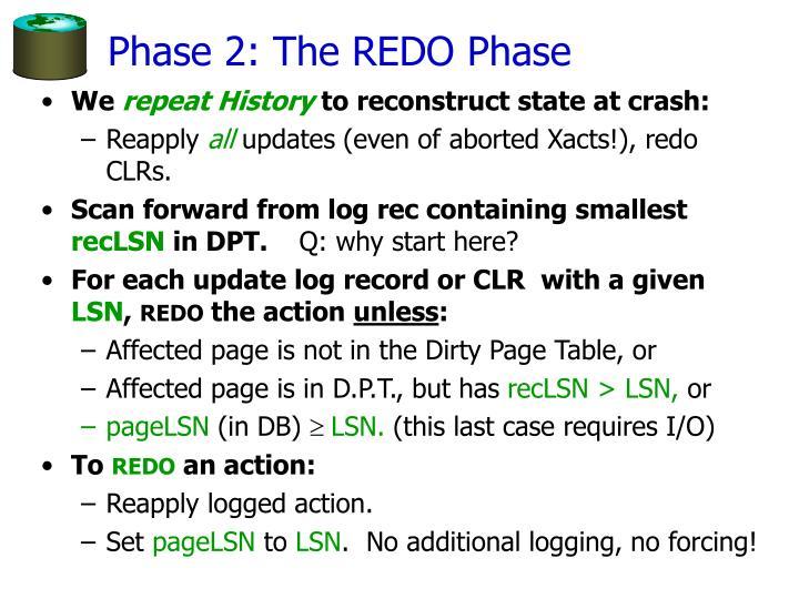 Phase 2: The REDO Phase