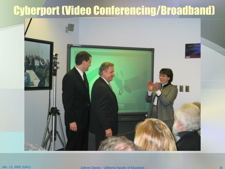 Cyberport (Video Conferencing/Broadband)