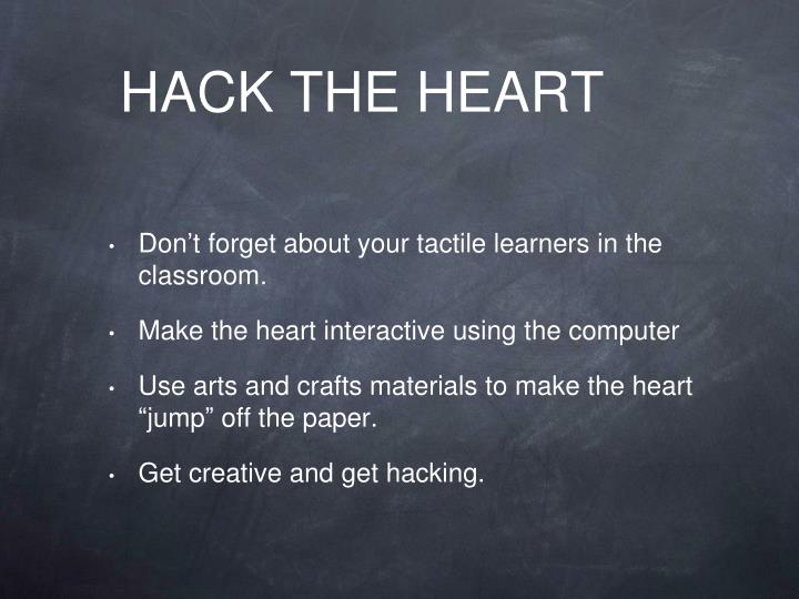 HACK THE HEART