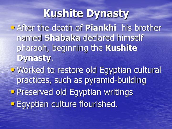 Kushite Dynasty