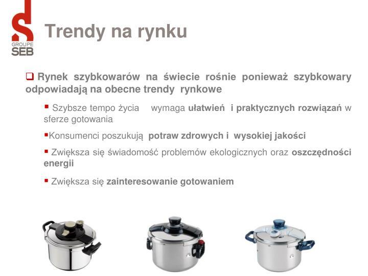 Trendy na rynku