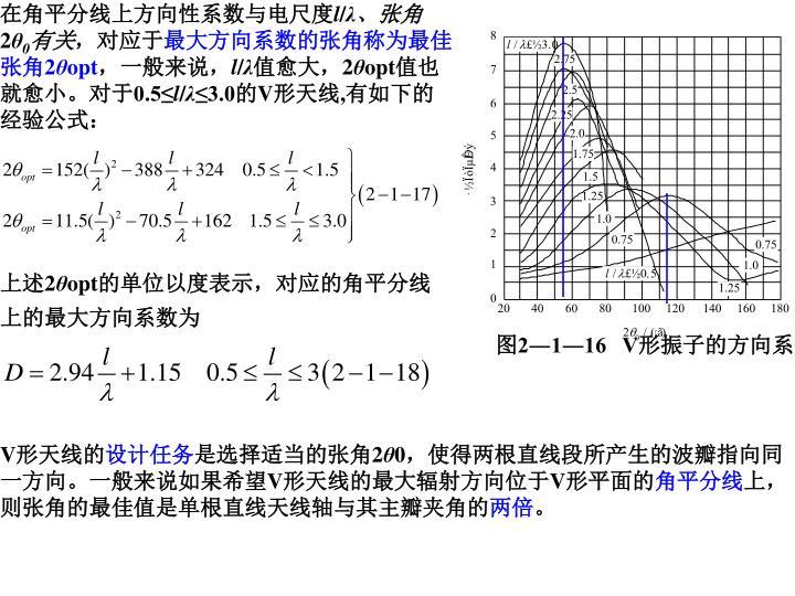 在角平分线上方向性系数与电尺度