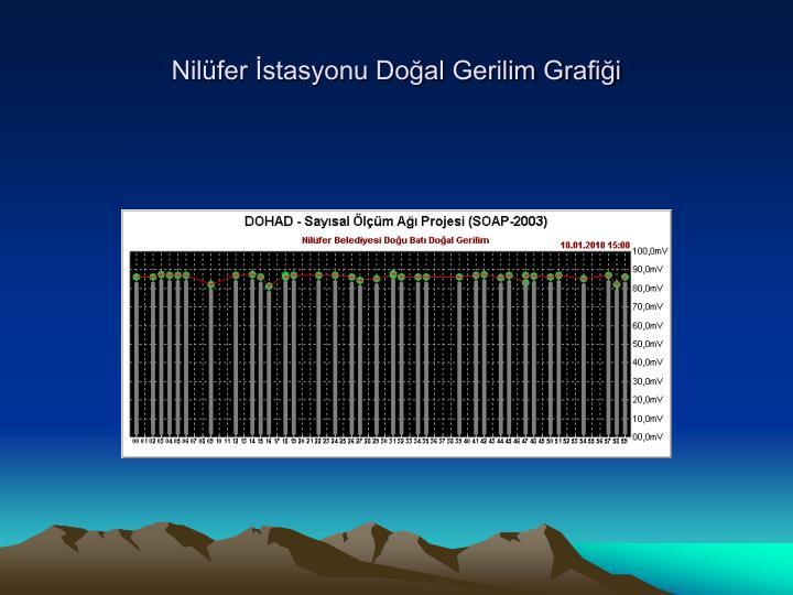 Nilüfer İstasyonu Doğal Gerilim Grafiği