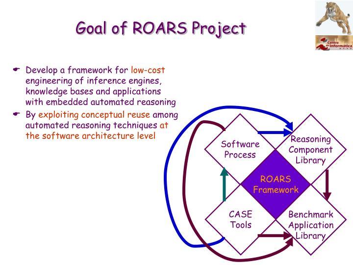 Goal of ROARS Project