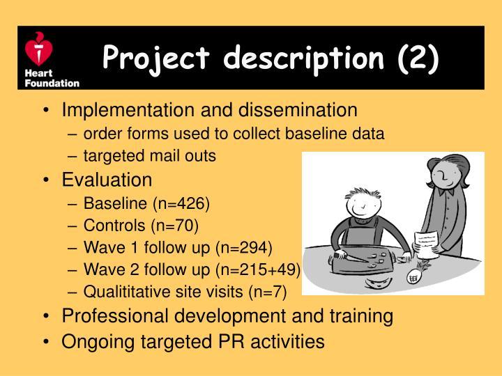 Project description (2)