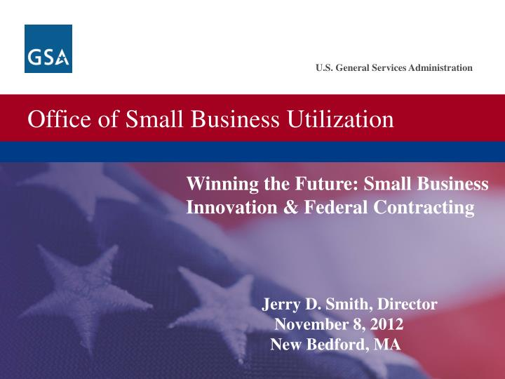 Winning the Future: Small Business Innovation & Federal Contracting