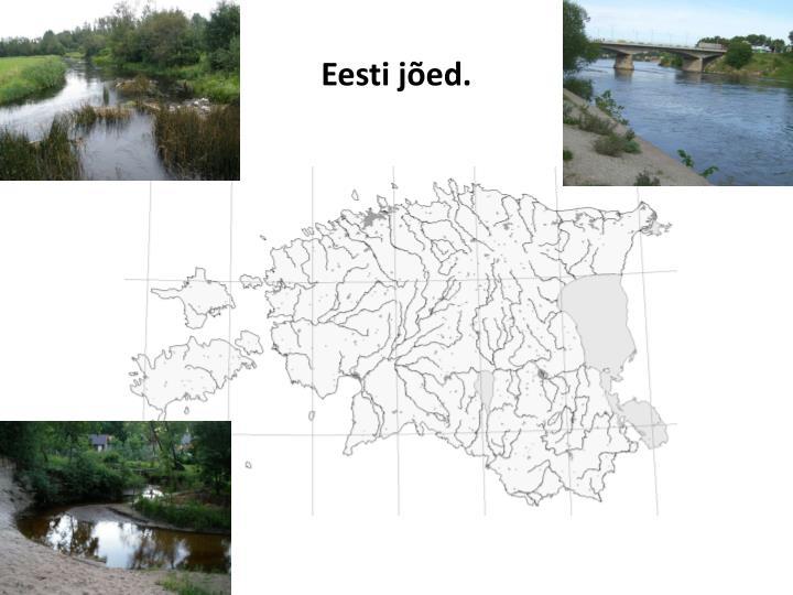 Eesti jõed.
