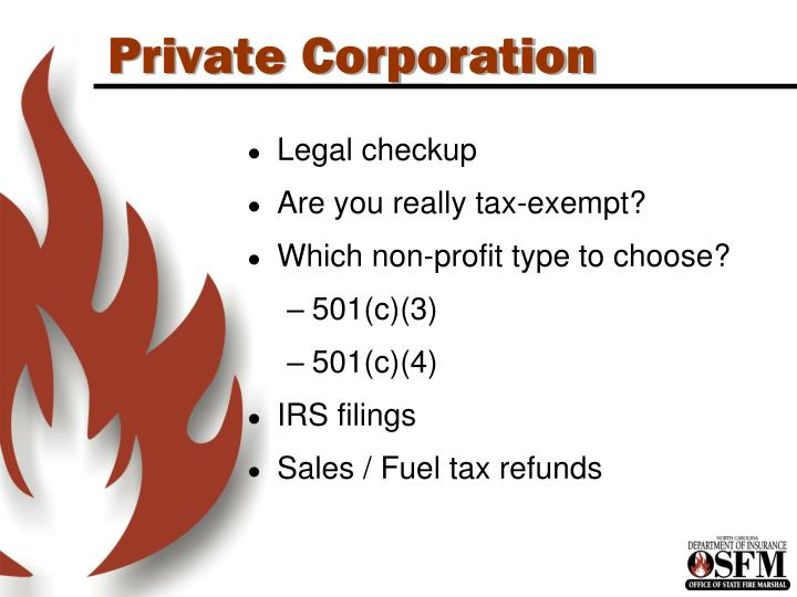 Private Corporation