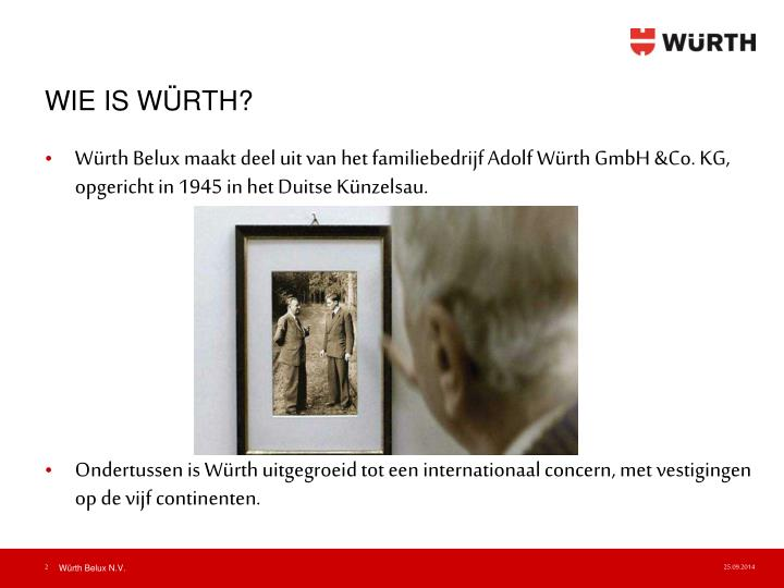 WIE IS WÜRTH?