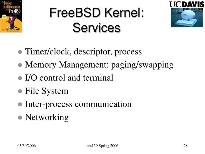 FreeBSD Kernel: Services