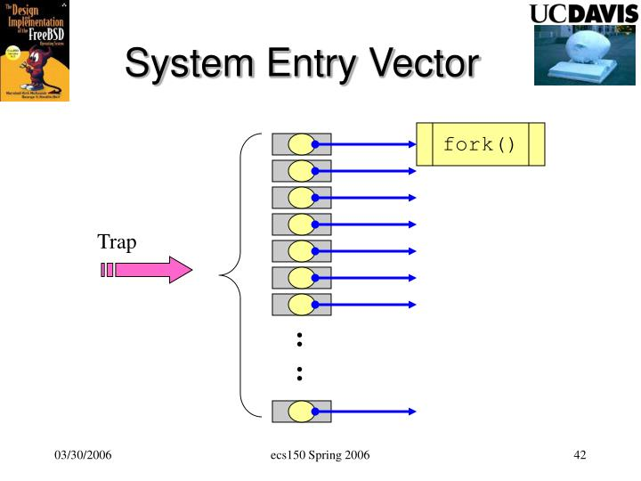 System Entry Vector