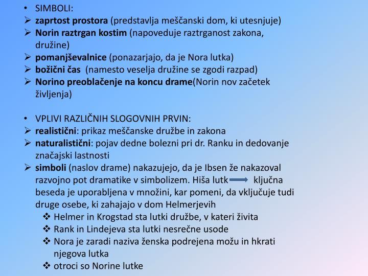 SIMBOLI: