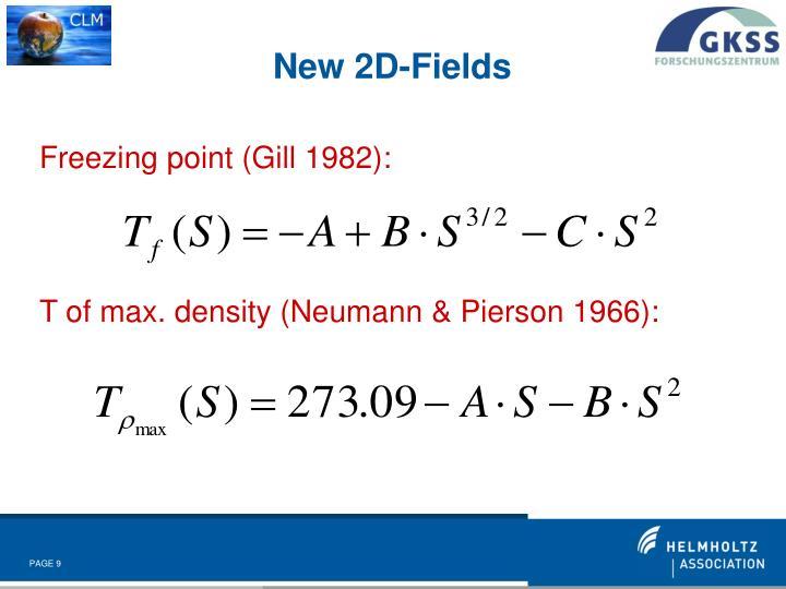 New 2D-Fields