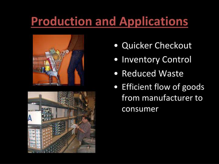 Production and Applications