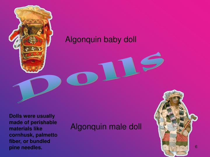 Algonquin baby doll