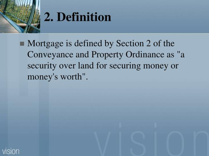 2. Definition
