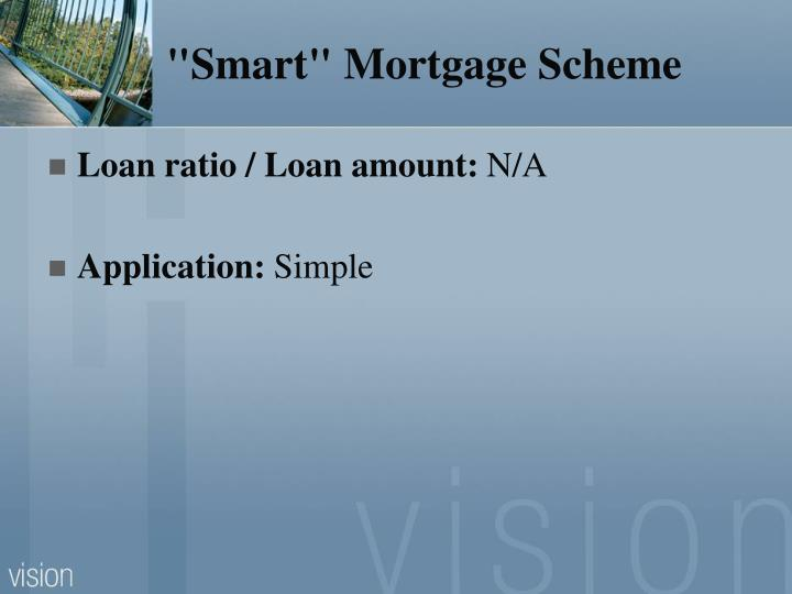 """Smart"" Mortgage Scheme"