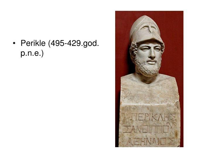 Perikle (495-429.god. p.n.e.)