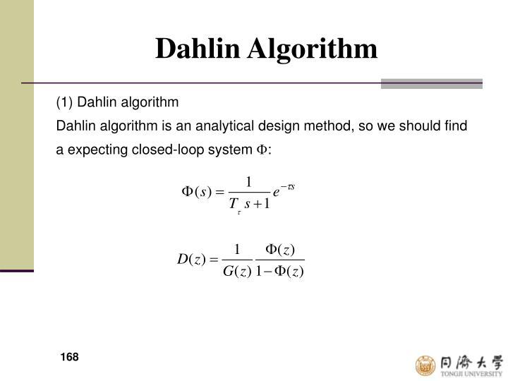 Dahlin Algorithm