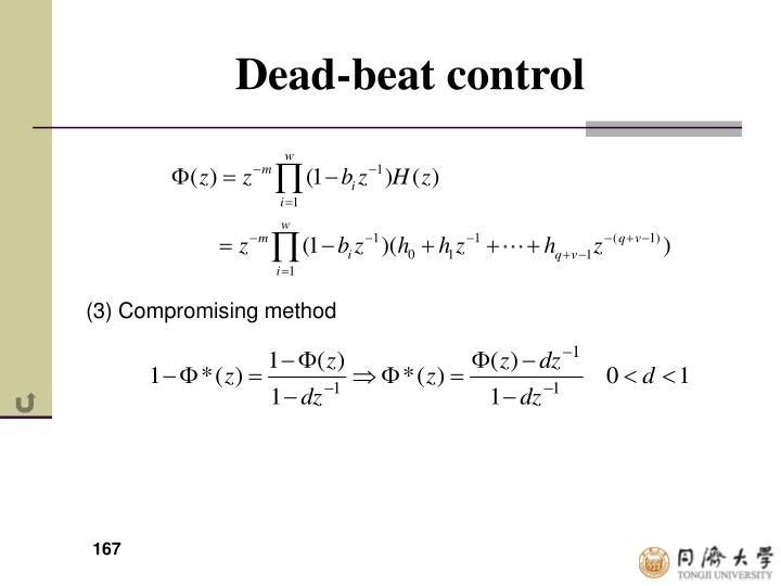 Dead-beat control
