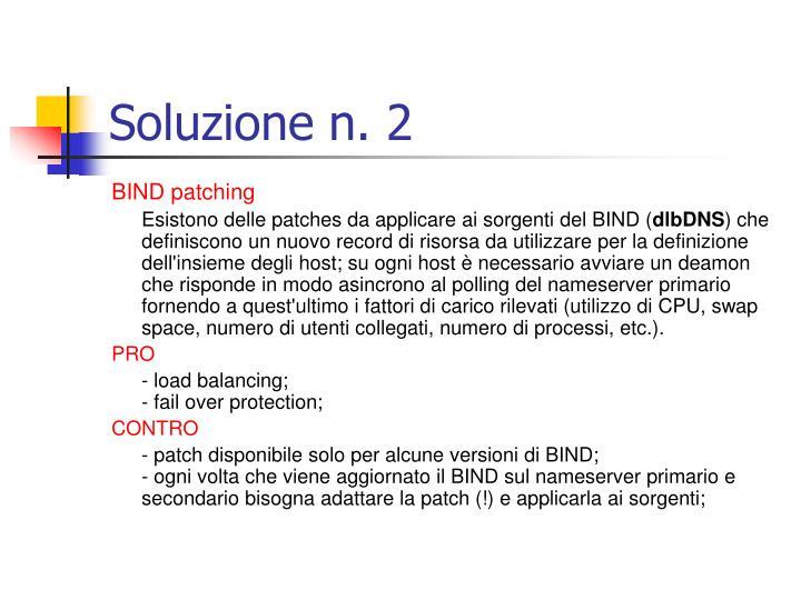 Soluzione n. 2