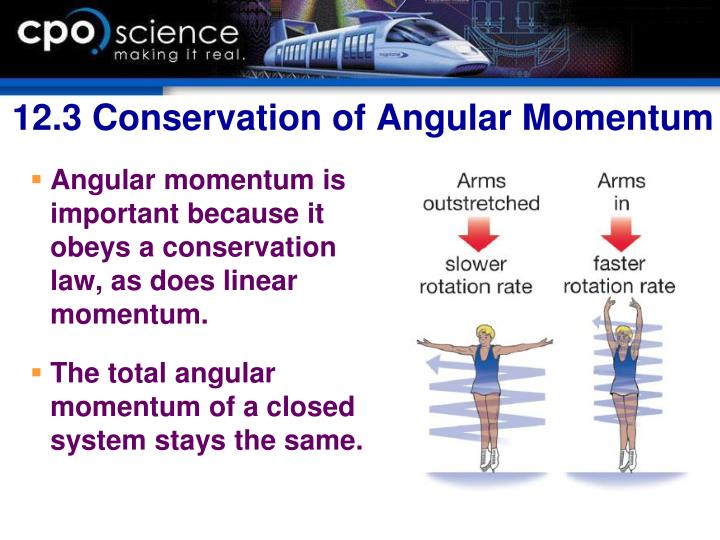 12.3 Conservation of Angular Momentum