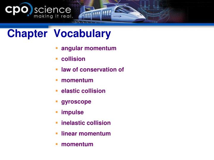Chapter  Vocabulary
