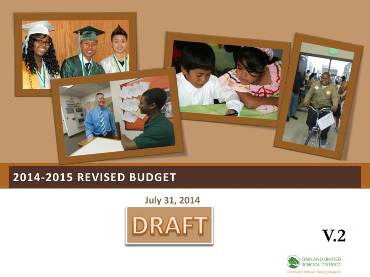 2014 2015 revised budget