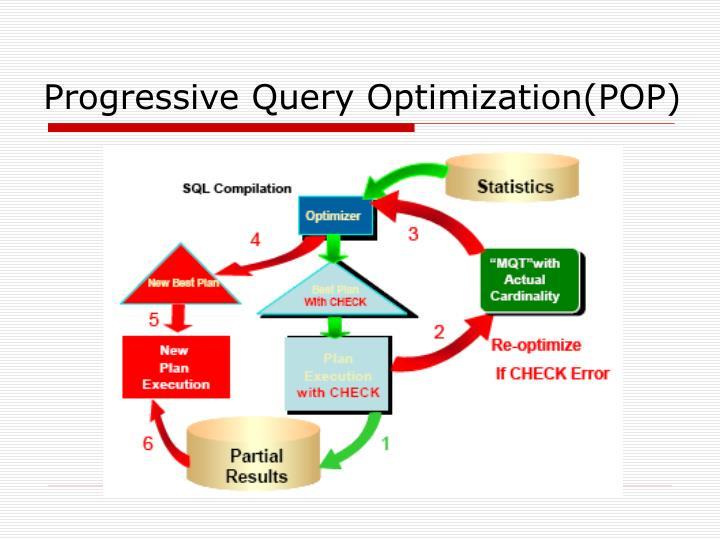 Progressive Query Optimization(POP)